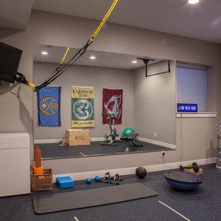 Most popular small denver home gym design ideas for