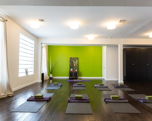 Best Yoga Studio Design Ideas Contemporary - Home Yoga ...