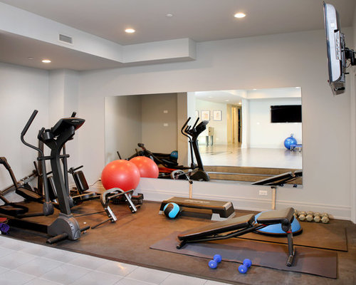Basement Gym Houzz