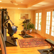 Traditional Home Gym by Sage Homes LLC