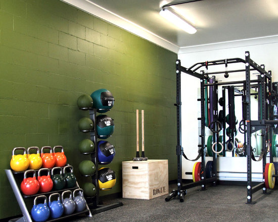 Small Home Gym Design Ideas Pictures Remodel  Decor - Small home gyms