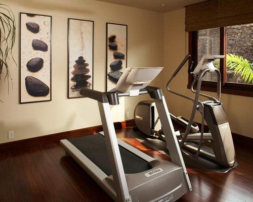 kolonialstil fitnessraum einrichten home gym heim. Black Bedroom Furniture Sets. Home Design Ideas