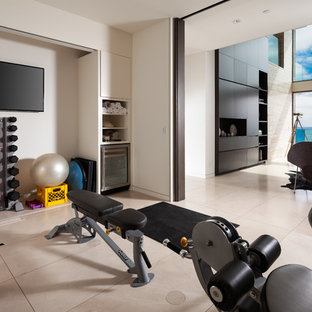 Most popular contemporary home gym design ideas for
