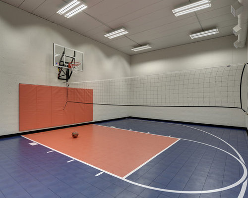 Indoor Volleyball Court   Houzz