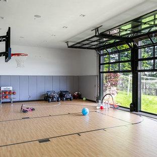 75 most popular contemporary home gym design ideas