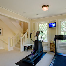 Traditional Home Gym by Aulik Design Build