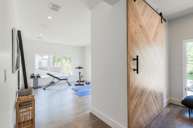 Contemporary Home Gym by Urbanology Designs
