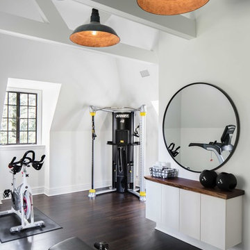 Transitional Home Gym