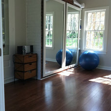 Traditional Home Gym by Palisades Home Improvements