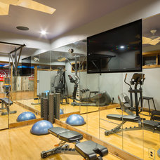 Traditional Home Gym by CHC Creative Remodeling
