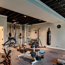 Traditional Home Gym by Farinelli Construction Inc