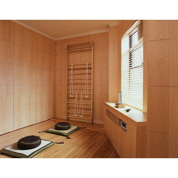 Lisa Dubin Architecture  / portfolio / residential / meditation room /