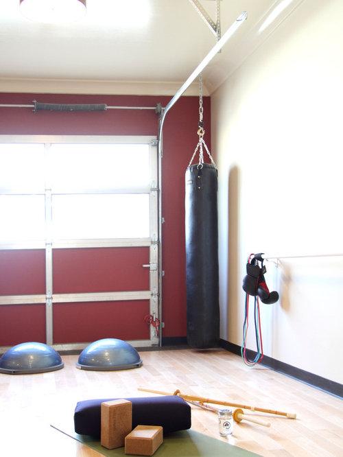Small contemporary home yoga studio design ideas