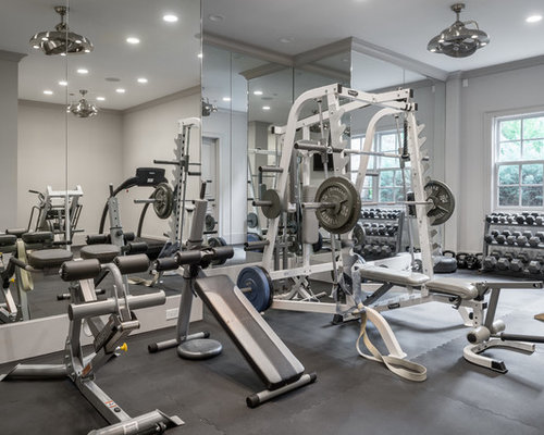 Home Weight Room Design Ideas Pictures Remodel Decor