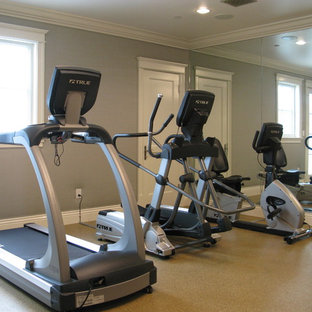 Most popular small los angeles home gym design ideas for