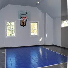 Traditional Home Gym by Siena Custom Builders, Inc.