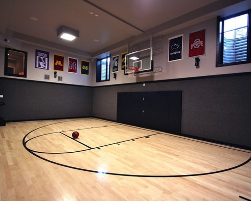 3e6115070f79a97d_2302 w500 h400 b0 p0 modern home gym sports court house plan houzz,Home Plans With Indoor Basketball Court
