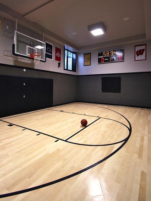 salle de sport moderne de luxe photos et id es d co de salles de sport. Black Bedroom Furniture Sets. Home Design Ideas