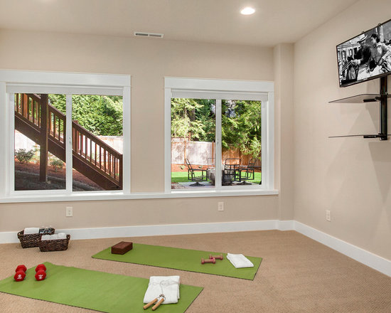Home Yoga Studio Design Ideas - [homestartx.com]