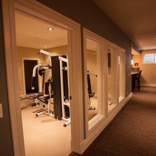 Calgary home gym design ideas pictures renovation decor