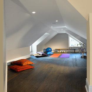 attic gym  houzz