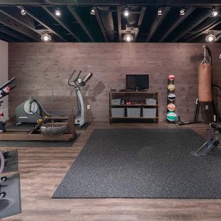 Industrial Fitnessraum in Boston