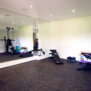 75 most popular traditional home gym with cork floors