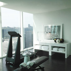 Contemporary Home Gym by Bennett Farley Design