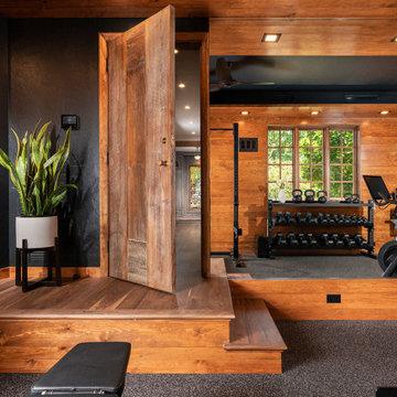 Masculine Home Gym