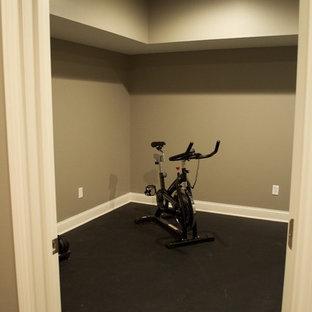 75 most popular budget small home gym design ideas for 2019