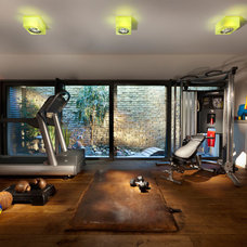 Contemporary Home Gym by Elad Gonen