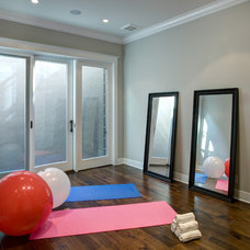 Traditional Home Gym by Allwood Construction Inc