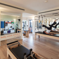 Contemporary Home Gym by 2 designers