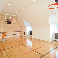Traditional Home Gym by Douglas VanderHorn Architects