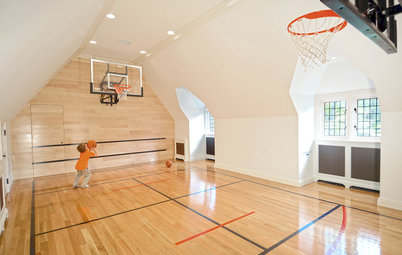 The Big Splurge: Indoor Basketball Courts for True Hoops Fans