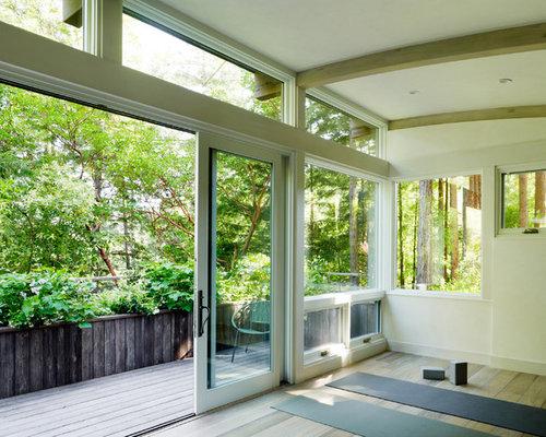 Contemporary Home Yoga Studio Ideas & Design Photos   Houzz