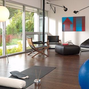 Home Yoga Studio   Contemporary Home Yoga Studio Idea In San Francisco