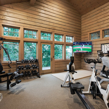 Missouri Hybrid Log & Timber Home - Stone County Residence