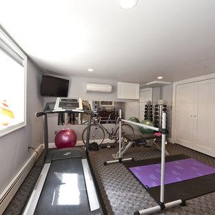 Moderner Fitnessraum in New York