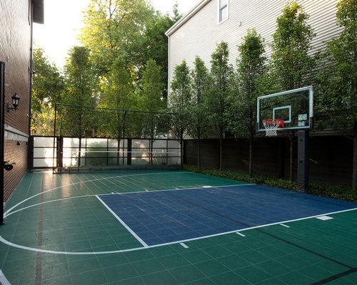 Sport court ideas pictures remodel and decor for Sport court ideas