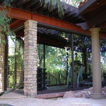 Modern Detached Backyard Gym