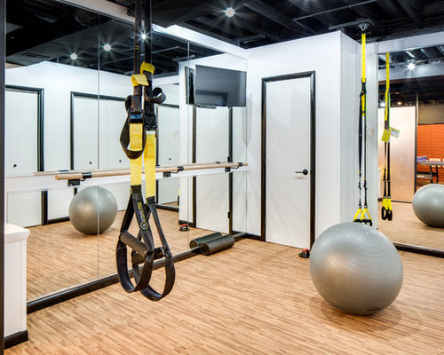 Small multiuse home gym design ideas pictures remodel