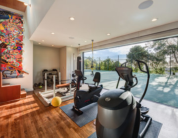 Modern Gym in Piedmont - Accessory Building