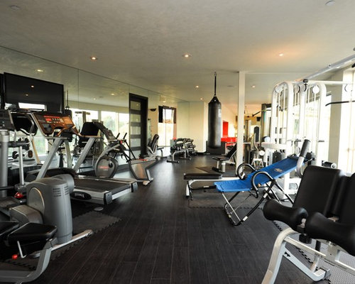 Best Modern Home Gym Design Ideas Amp Remodel Pictures Houzz