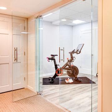 Modern Home Gym Space