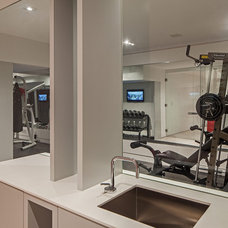 Modern Home Gym by Peter A. Sellar - Architectural Photographer