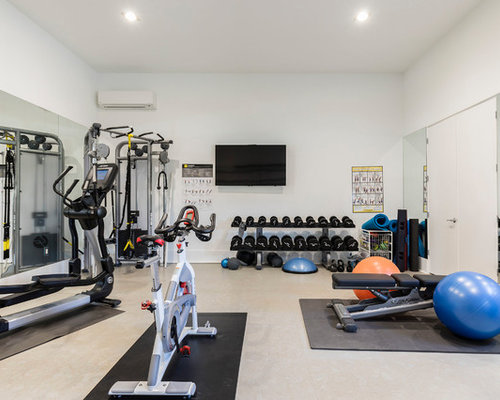 Best contemporary home gym design ideas remodel pictures