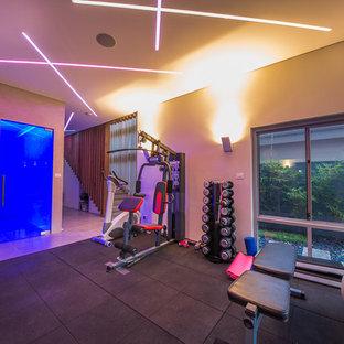 Moderner Fitnessraum in Perth