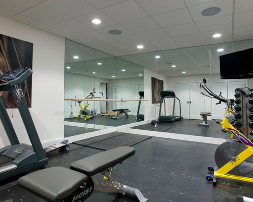 Best rustic new york home gym design ideas remodel