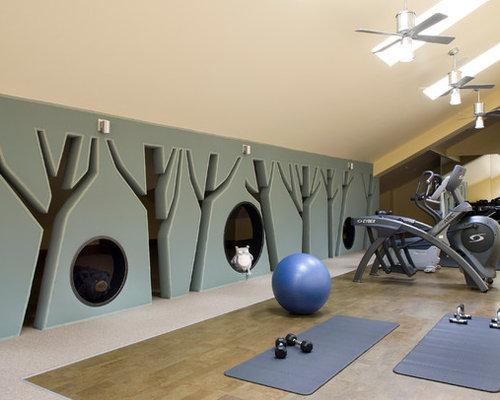 Ideas para gimnasios dise os de gimnasios r sticos - Gimnasio paredes ...